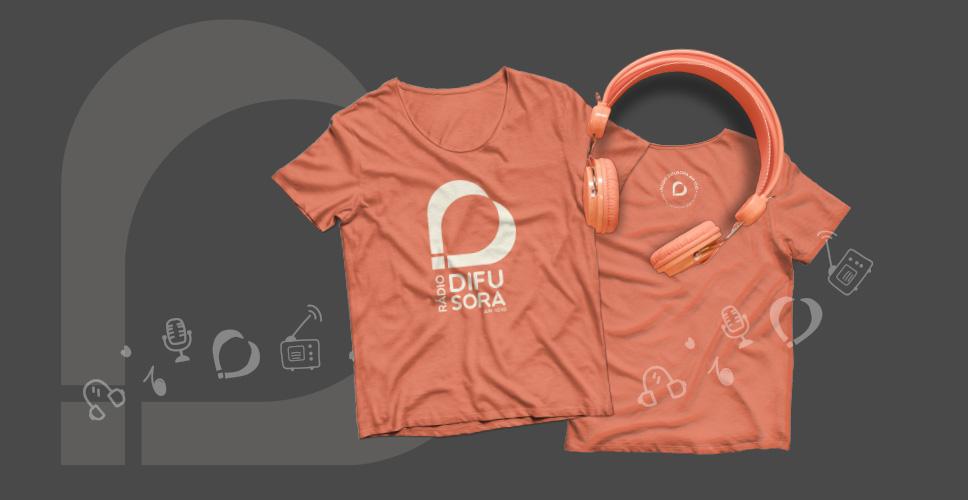 Camisetas Rádio Difusora